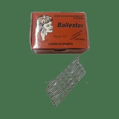 Grampo-Ballester-Nº-7-Castanho-com-100-Unidades-7896556600060