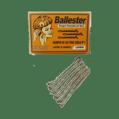 Grampo-Ballester-Nº-5-Loiro-com-50-Unidades-7896556600503