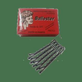 Grampo-Ballester-Nº-5-Preto-com-50-Unidades-7896556600510