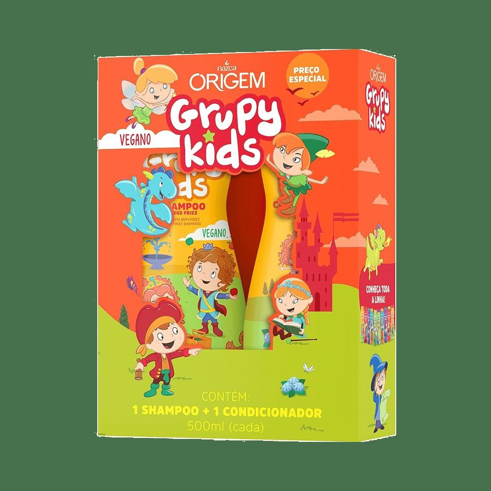 Kit-Grupy-Kids-Shampoo-500ml---Condicionador-500ml-Adeus-Frizz-7896085871610
