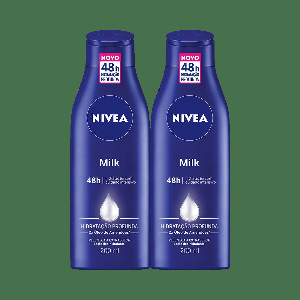 Kit-Nivea-Locao-Body-Milk-Pele-Extra-Seca-200ml-Com--2-Unidades