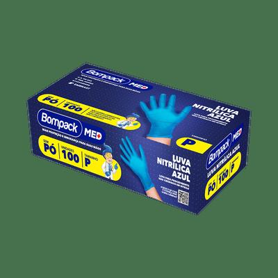 Luva-Bompack-Nitrilica-Com-100-Azul-P