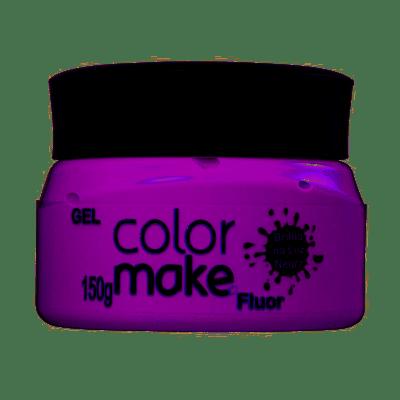 Gel-ColorMake-Fluorescente-Roxo-150g