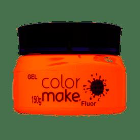 Gel-ColorMake-Fluorescente-Laranja-150g
