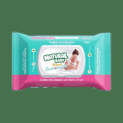Toalha-Umedecida-Natural-Baby-Recem-Nascido-com-50-Unidades-7896064431231