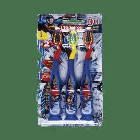 Escova-Dental-Jadefrog-Superman-com-3-Unidades-7897217403877