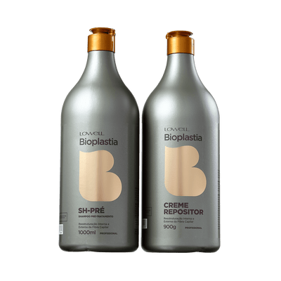 Kit-Lowell-Bioplastia-Shampoo-Pre-1000ml-Creme-Repositor-900g