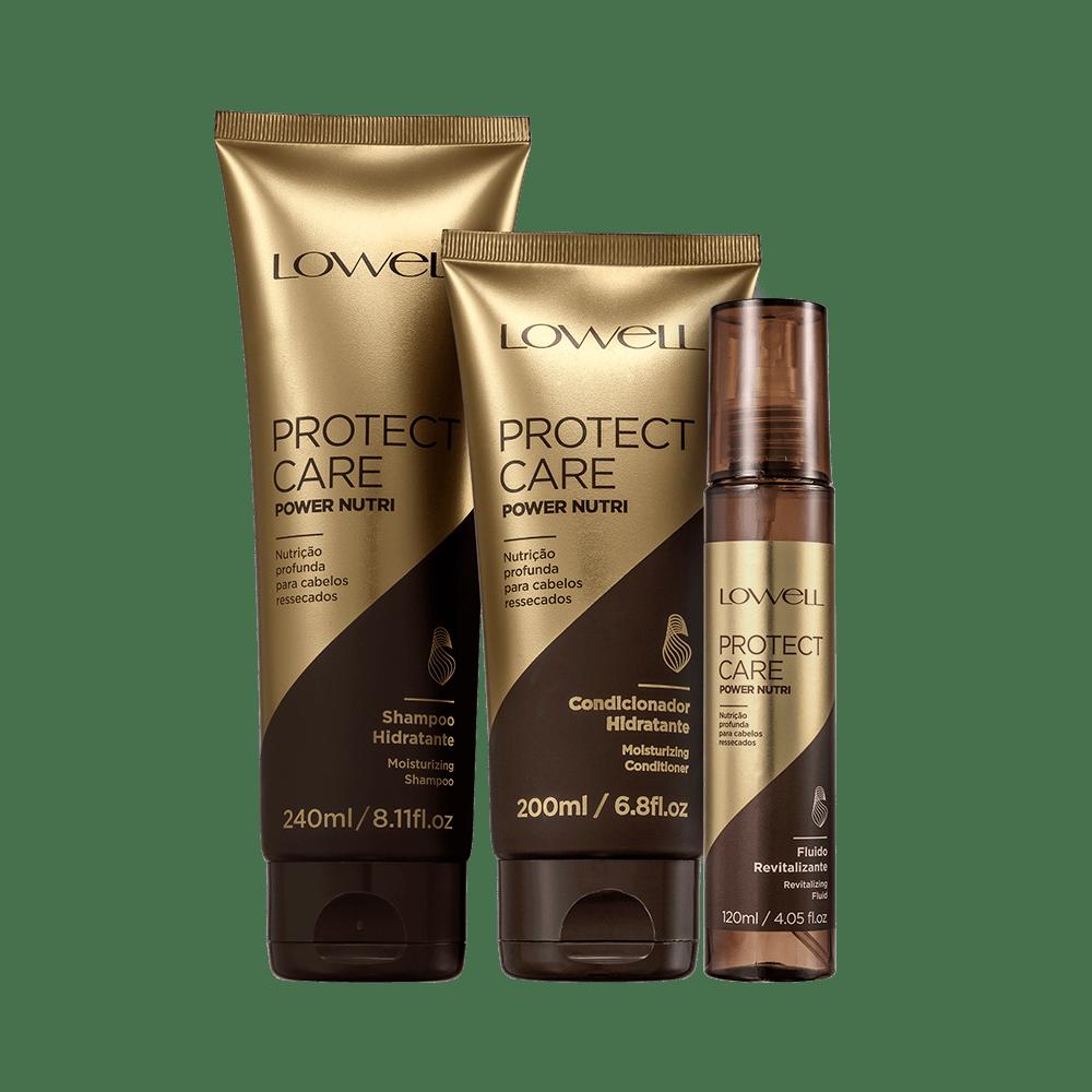 Kit-Lowell-Protect-Care-Shampoo---Condicionador---Leave-In-Nutri