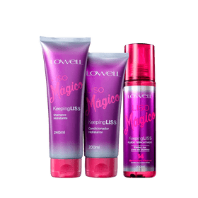 Kit-Lowell-Liso-Magico-Shampoo-240ml-Condicionador-200ml-Fluido-200ml