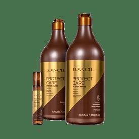 Kit-Lowell-Shampoo---Condicionador-1000ml---Fluido-Nutri-Care