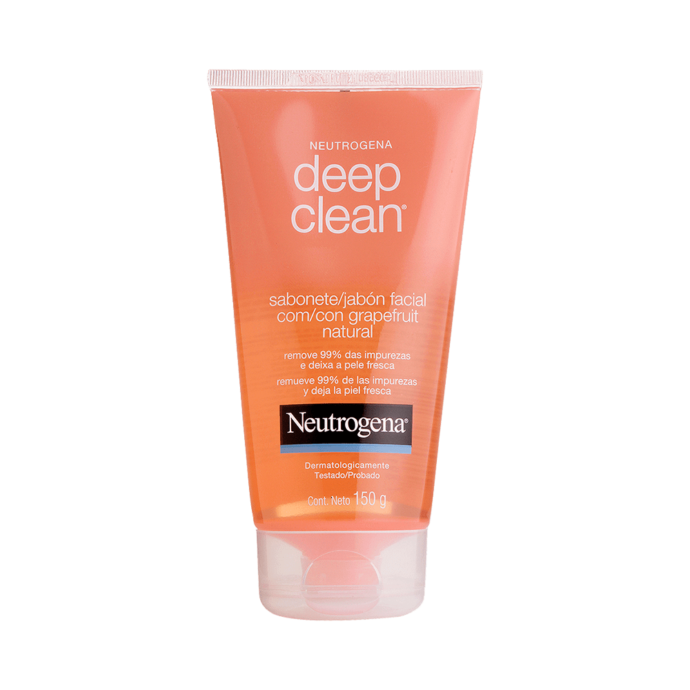 Sabonete-Facial-Neutrogena-Deep-Clean-Grapefruit-150g-7891010972226