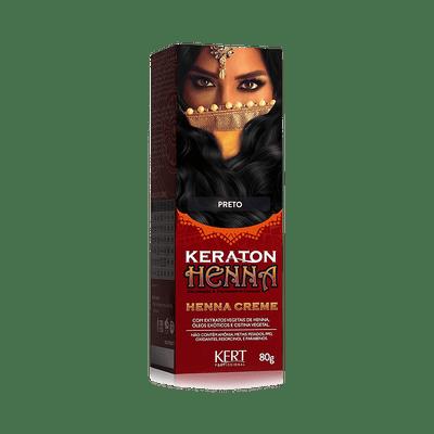 Henna-Keraton-Preto-80G
