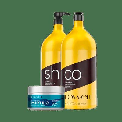 Kit-Lowell-Shampoo---Condicionador-2500ml-Gratis-Mascara-Mirtilo-240g