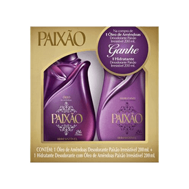 Kit-Oleo-Corporal-Paixao-Irresistivel-200ml-Gratis-Hidratante-200ml