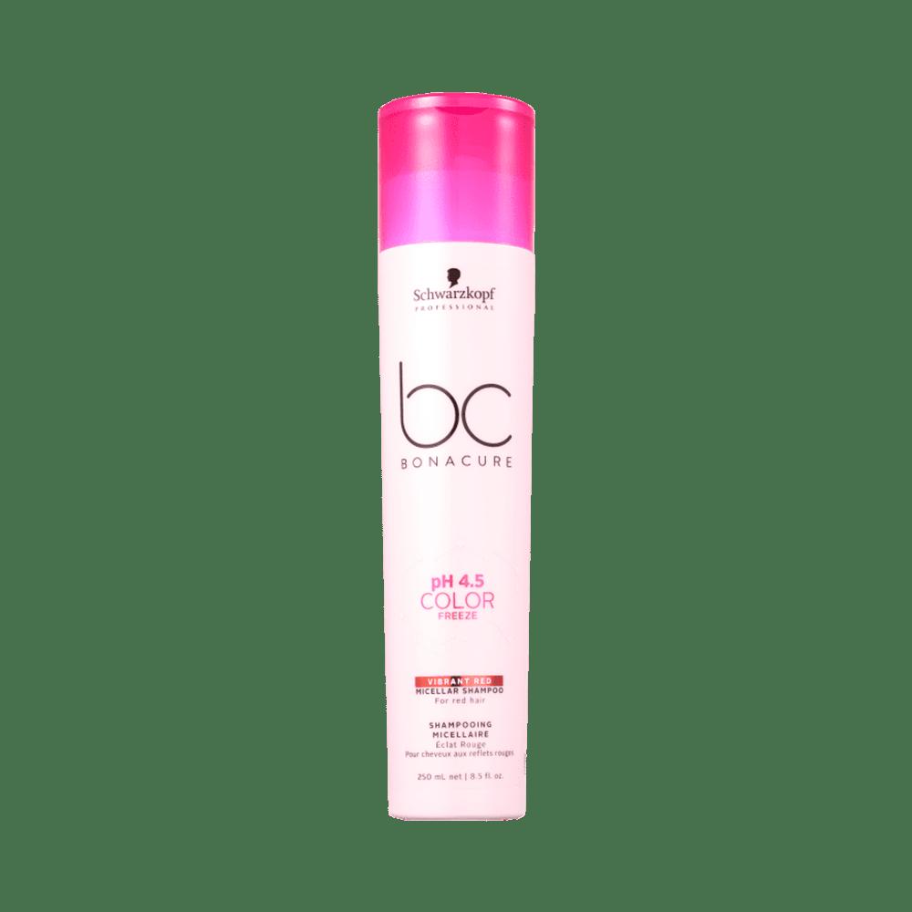 Shampoo-Bc-Bonacure-Micellar-pH-4.5-Color-Freeze-Vibrant-Red-250ml