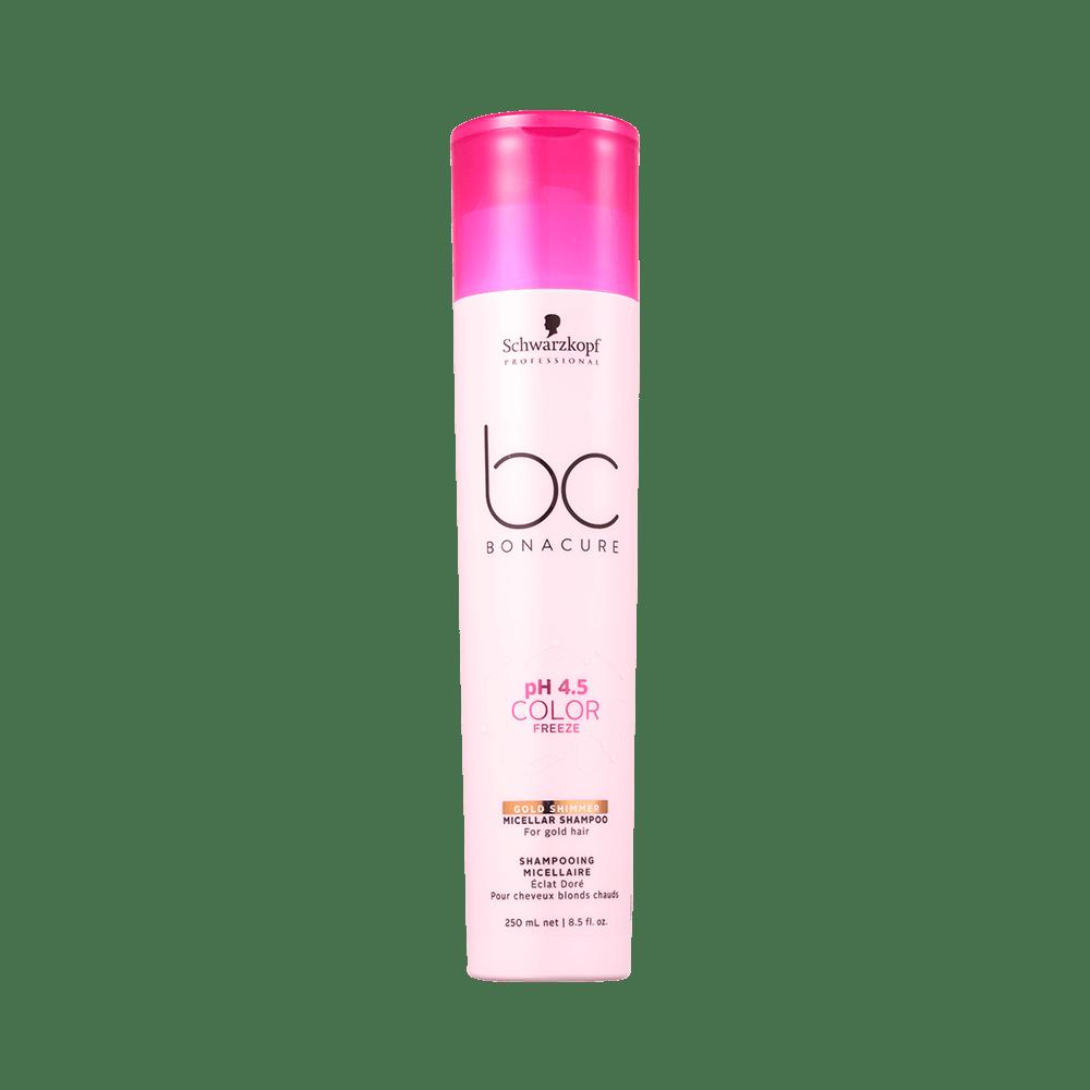 Shampoo-Bc-Bonacure-Micellar-pH-4.5-Color-Freeze-Gold-250ml