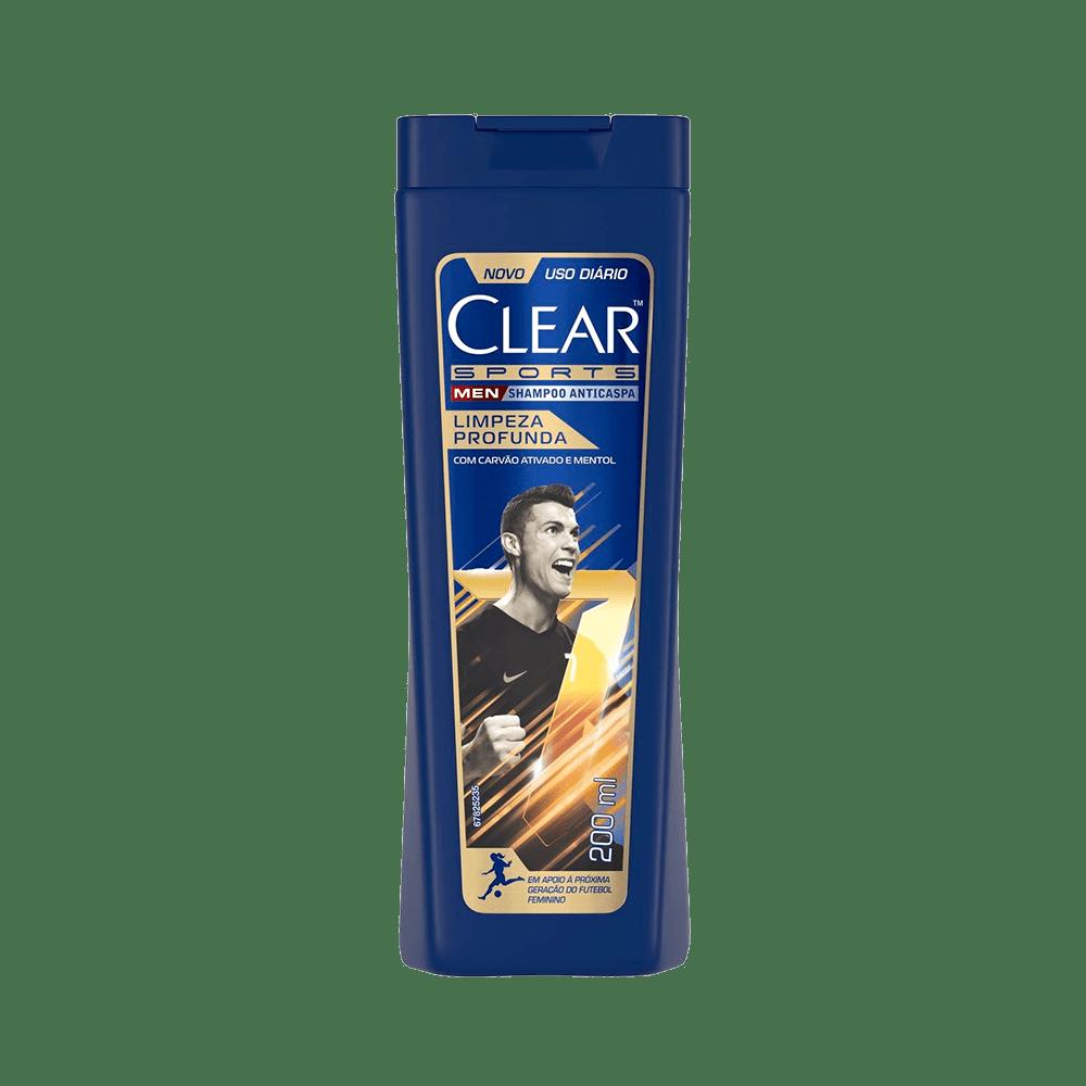 Shampoo-Clear-Anticaspa-Men-Limpeza-Profunda-Clear-200ml-7891150019508