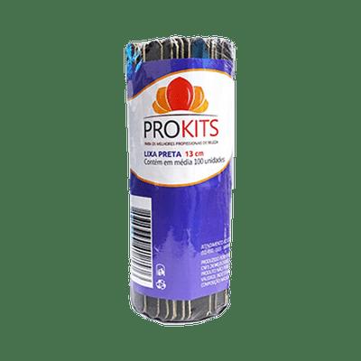 Lixa-para-Unha-Prokits-Preta-13cm-com-100-Unidades-7898960418576