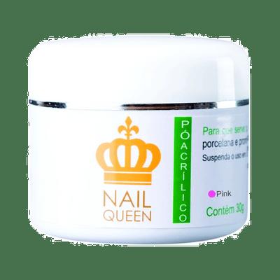 Po-Acrilico-Nail-Queen-Pink-30g-7898669950360