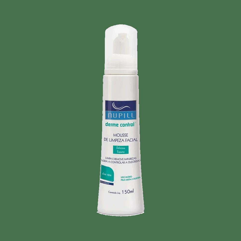 Mousse-de-limpeza-Facial-Nupill-Dermo-Control-Aloe-Vera-150ml
