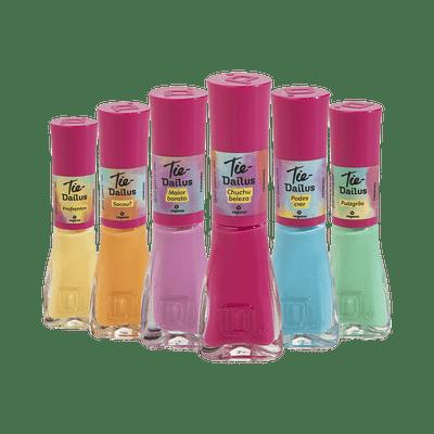 Kit-Esmalte-Dailus-Colecao-TIe-Vegano-6-Cores