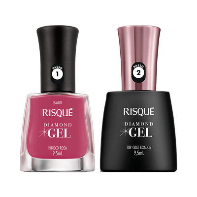 Kit-Risque-Esmalte-Diamond-Gel-Hibisco-Rosa---Top-Coat-9900000040406