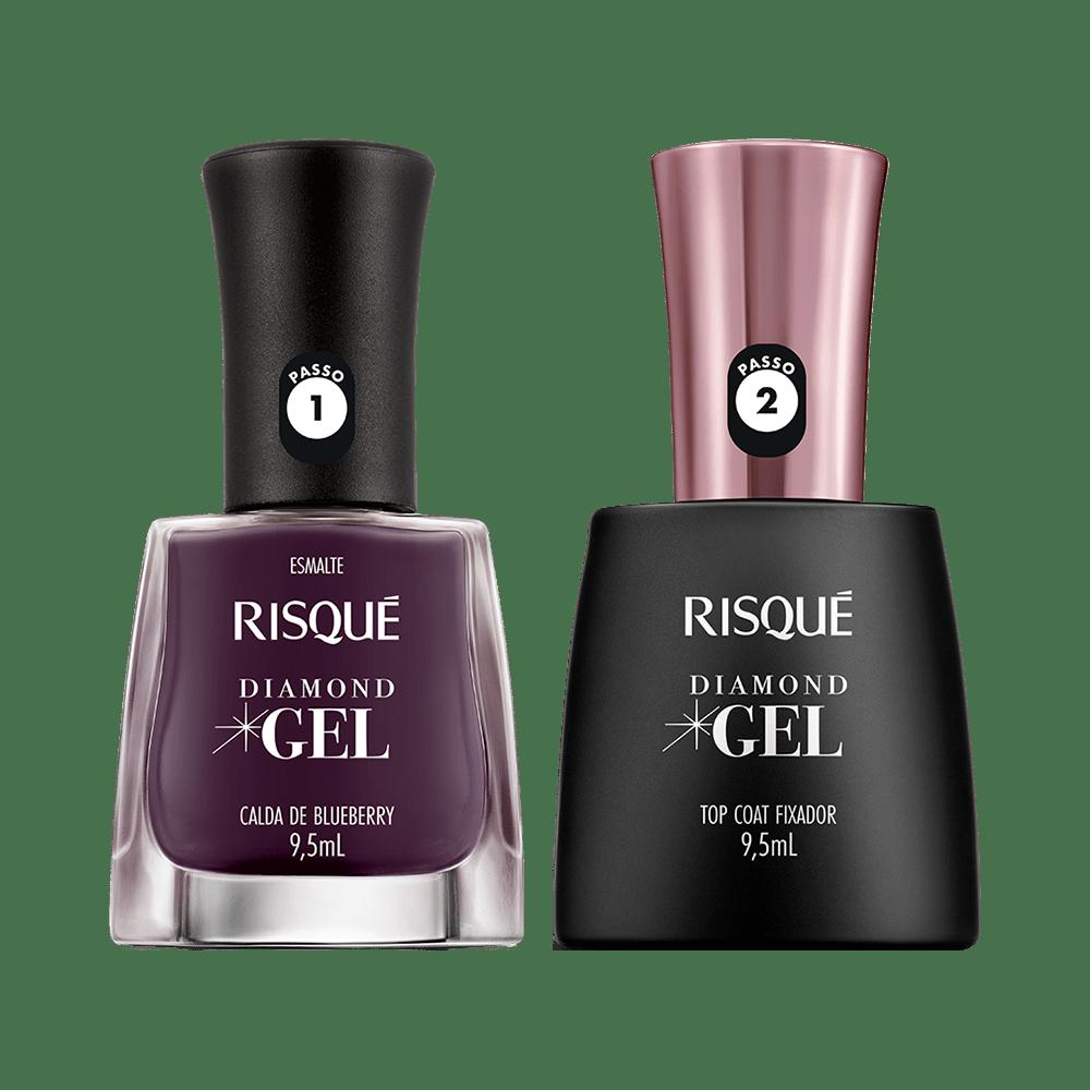 Kit-Risque-Esmalte-Diamond-Gel-Calda-De-Blueberry---Top-Coat-9900000040338