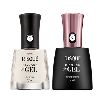 Kit-Risque-Esmalte-Diamond-Gel-Cha-Branco---Top-Coat-9900000040321