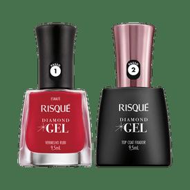 Kit-Risque-Esmalte-Diamond-Gel-Vermelho-Rubi---Top-Coat-9900000040369