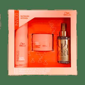Kit-Wella-Invigo-Nutri-Enrich-Shampoo-250ml---Mascara-150ml---Oleo-Reflections-100ml