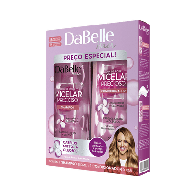 Kit-Dabelle-Shampoo---Condicionador-Micelar-Precioso-7898965666330