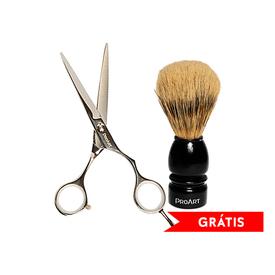 Kit-Proart-Tesoura-Fio-Navalha-7.0-Gratis-Pincel-Barber-Line