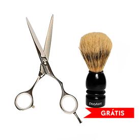 Tesoura-ProArt-Fio-Navalha-R22-7.0-Gratis-Pincel-Barber-Line