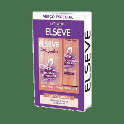 Kit-Elseve-Shampoo-375ml---Condicionador-170ml-Liso-dos-Sonhos-7899706184380