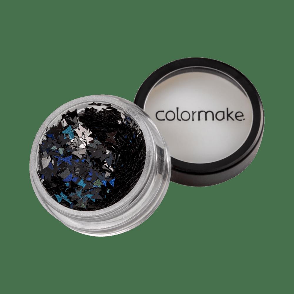 Glitter-ColorMake-Shine-Borboleta-Preto-2g-7898595463361