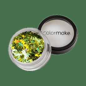 Glitter-ColorMake-Shine-Formatos-Borboleta-Verde-2g-7898595463385