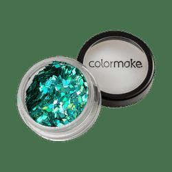 Glitter-ColorMake-Shine-Formatos-Diamante-Azul-Turquesa-2g-7898595463415