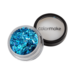 Glitter-ColorMake-Shine-Formatos-Meia-Lua-Azul-Turquesa-2g-7898595464337
