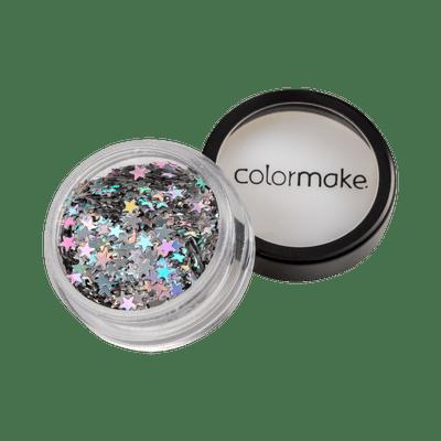 Glitter-ColorMake-Shine-Estrela-Prata-7898595463439