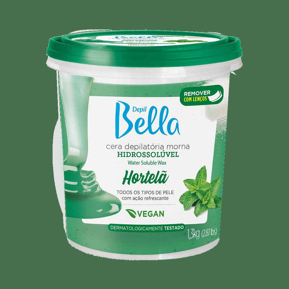Cera-Depil-Bella-Hidrossoluvel-Hortela-1300g-7898212286533