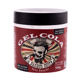 Gel-Cola-Softfix-Sem-Alcool-Barber-Shop-Alta-Fixacao-500g-7898930508580