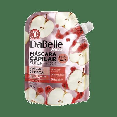 Mascara-de-Tratamento-Dabelle-Superfood-Vinagre-Maca-e-Geleia-Frutas-100g