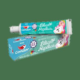 Gel-Dental-Condor-Lilica-Ripilica-2a5-Anos-50g--3512--7891055538210