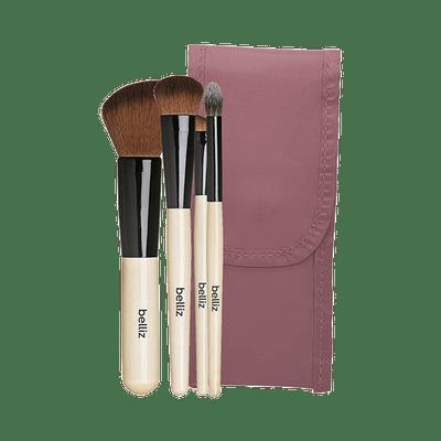 Kit-Pinceis-de-Maquiagem-Belliz-Facial-com-4---Estojo-Marfim--2329--7897517923297