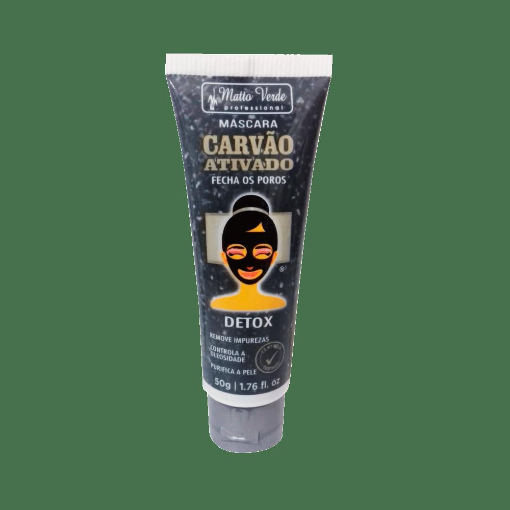 Mascara-Facial-Matto-Verde-Carvao-Ativado-50g