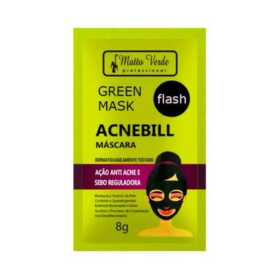 Mascara-Facial-Matto-Verde-Acnebill-8g