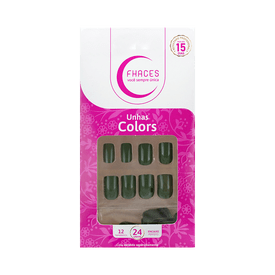 Unhas-Fhaces-Colors-Verde-Militar-24-unidades--U3098--7898577232558