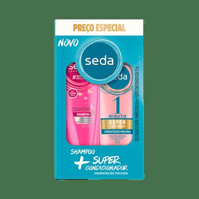 Kit-Seda-Ceramidas-Shampoo-325ml---Super-Condicionador-Hidratacao-170ml-7891150074729