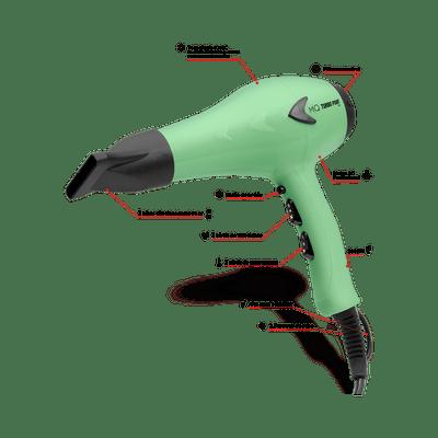 Secador-MQ-Turbo-Point-Mint-2000W-127V-caracteristica