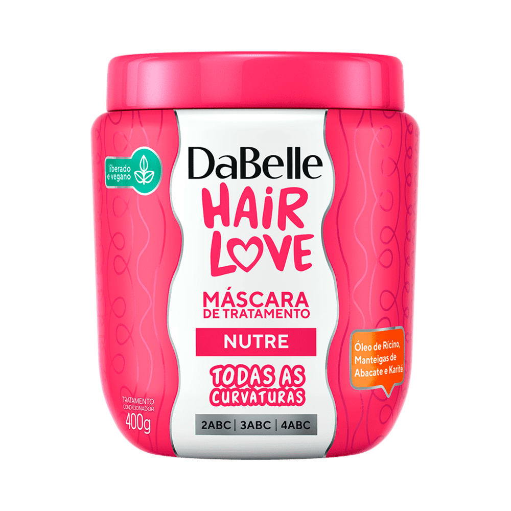 Mascara-Dabelle-Hair-Love-Nutricao-400g-7908448000084